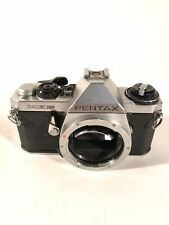 **AS IS** Pentax ME Super 35mm SLR Film Camera - Body Only, Silver