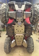 Yamaha Grizzly 700 550 underbody armor skid plates and c/v boot guards full set