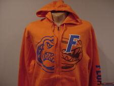 GORGEOUS Florida Gators Men's Sz Lg Majestic Orange Zippered Hoodie, NEW&NICE!!