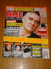 NME 2005 DEC 31 MORRISSEY STROKES RADIOHEAD OASIS BLOC