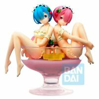Re Zero Starting Life in Another World PVC Statue Rem & Ram Pudding á la mode