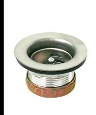 Bar Prep Sink Laundry Tub 2 -1/2� Stainless Steel Drain Strainer Basket (Bb)
