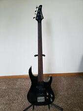 Washburn Mb4 Mercury Series fretless bass guitar W / gig bag