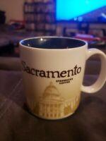 Starbucks SACRAMENTO California Global Icon City Series COFFEE MUG 2010