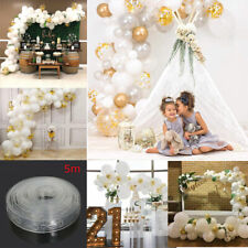 100Pcs 5M DIY Balloon Arch Garland Kit Birthday Wedding Baby Shower Hen Party UK