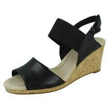 CLARKS Lafley Lily Ladies Wedge Sandal