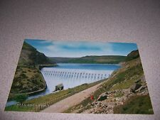 1950s CABAN COCH DAM ELAN VALLEY WALES UK. VTG POSTCARD