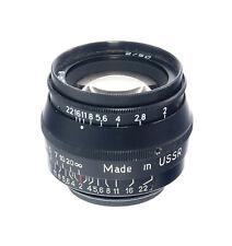 Jupiter-8 Objektiv / lens 2/50 für M39 - (33133)