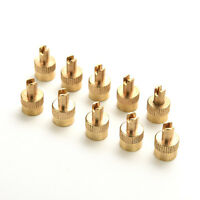 10pcs Chrome Metal Slotted Head Valve Stem Caps With Core Remover Tool Car EB