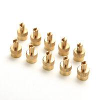 10 stücke Chrom Metallschlitz Kopf Ventilkappen Mit Kern Entferner WerkzeugP st