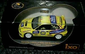 Valentino Rossi Toyota Corolla WRC #46 2003 - Rare RAM 134