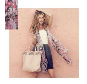 Avon Leann Scarf pink/grey floral