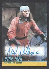STAR TREK TOS 40th ANNIVERSARY SERIES 2 Autograph Card #A167 FRED WILLIAMSON