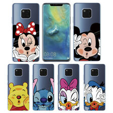 3D Cute Cartoon Shockproof Silicone TPU Soft Phone Case Cover For Huawei Model