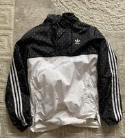 Adidas Pharrell Williams HU Wind Breaker Jacke Schwarz Gr. M / NEUWERTIG