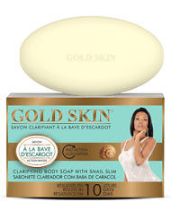 Gold Skin Clarifying Body Soap with Snail Slime 6 oz/180 g
