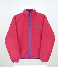 Womens Patagonia Vintage Fleece Jacket Pink Size M