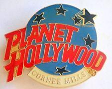 Planet Hollywood Pin / Badge Gurnee Mills Classic Light Blue Globe Logo