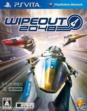 Used PS Vita WipEout 2048  SONY PLAYSTATION JAPANESE IMPORT
