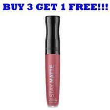 Rimmel Lipgloss Stay Matte 5.5ml Pink Bliss 100