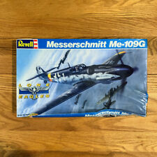Revell Model Airplane German WWII Messerschmitt ME - 109G 1/32  Lone Eagles