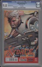 CABLE AND X-FORCE #1 - CGC 9.8 - JOE QUESADA VARIANT - 1133205012