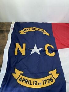 North Carolina 3ft. x 5ft. Sewn Polyester Flag C27