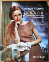 Vintage Fashion Knitwear, by Marnie Fogg - HB/DJ 9781741730593