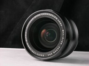 MINT Fuji/Fujifilm WCL-X100 wide conversion lens for X100/S/X100T/X100F rrp £279