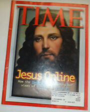 Time Magazine Jesus Online Internet Is Shaping December 1996 031215R2