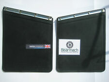 Land Rover Series 2, 2a, 3 Rear Mudflap set With Fixing Brackets BR 0204, 320590