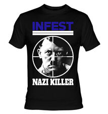 Infest - Nazi Killer T-Shirt cro-mags misfits siege hardcore dead kennedys
