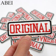 Original Label Iron On Patch- Clothes Cool Applique Crafts Badge Patches HD217