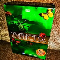 GEORGES BROSSARD INSECTIA 4-disc DVD BOX SET ~ 13 EPISODE DOCUMENTARY