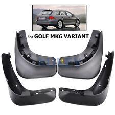 PARAFANGHI adatta per VW Golf mk6 6 Variant Estate Fango Flap Splash Guardie ANTIBECCHEGGIO