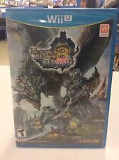 Monster Hunter 3 Ultimate Wii U Brand New -- S2G --
