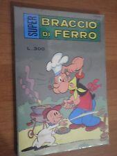 BRACCIO DI FERRO SUPER ed. Metro 1976 n. 46  stato Ottimo di Busta   L