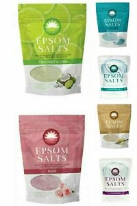 450g Elysium Spa Epsom Salts & Natural Magnesium Sulphate Crystals Bath Soak