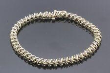 New listing Womens 14k Yellow Gold & Diamond Tennis Bracelet 13.3g 1.92TCW K-L SI1-I1 #31001