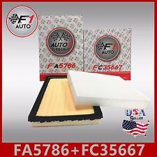FA5786 FC35667 PREMIUM ENGINE & CABIN AIR FILTER for 2013-17 AVALON HYBRID 2.5L