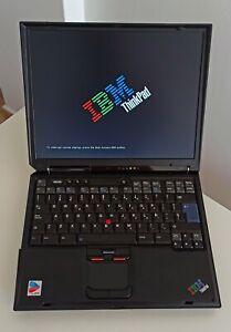 Portatil retro IBM Thinkpad R40 con caja