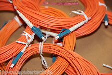 10 Stück 10m optical fiber cables LC LC Glasfaserkabel Kabel Server Fiber Cable