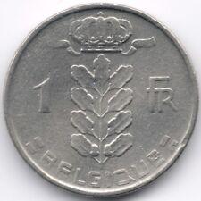 Belgium : 1 Franc 1956 French Legend