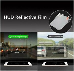 Car Windshield HUD Head Up Display Speedometer GPS Special Reflective Film Parts