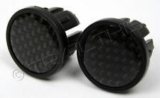 Profile Design Carbon Fiber Look Bike Drop Bar Handlebar End Plugs/Caps Road MTB