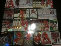 Huge Lot of (50) Nicklas Lidstrom Hockey Cards Red Wings with RC