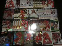Huge Lot of (50) Nicklas Lidstrom Hockey Cards Red Wings with RC