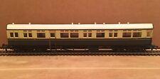 OO Bachmann GWR Coach European Style Passenger Car #188 Chocolate Cream Collett