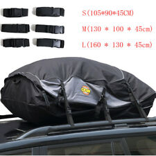 Large Waterproof Roof Rack Bag for Storage Cargo Luggage Travel Trip160x130x45cm