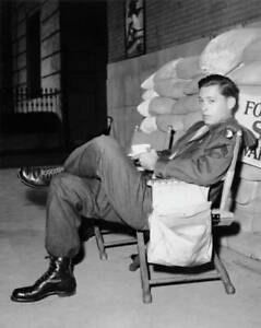 American Actor John Kerr On The Set Of The Mgm Film Gaby 1955 He A OLD PHOTO